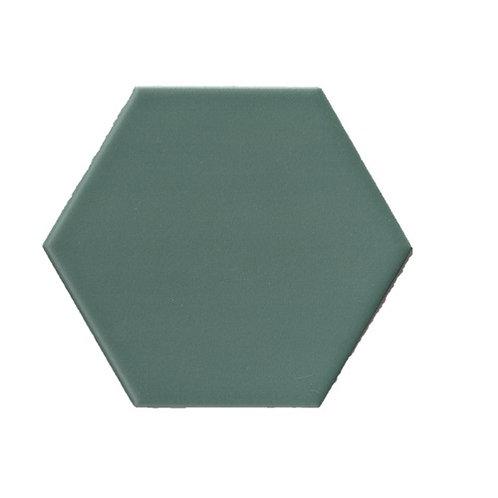 Hexagon mat donkergroen 15x17 tegels (prijs per m²)