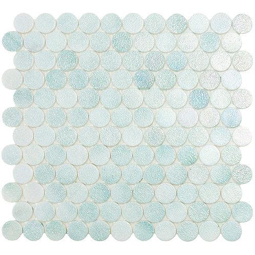 Circle Crystal Mint glasmozaïek 25CX25CMM tegels