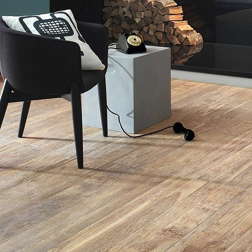 Keramisch hout Leca 20x121,5 cafélook vloertegels / wandtegels