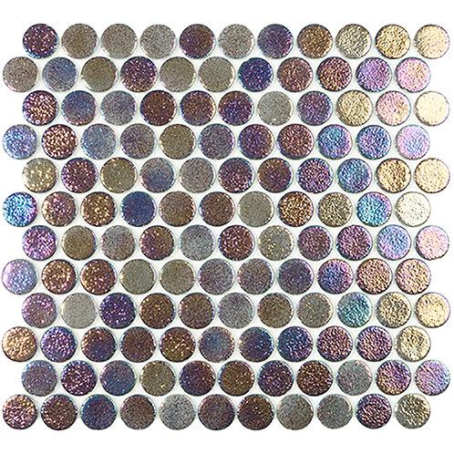 Shell Deep Circle glasmozaïek 25CX25CMM tegels