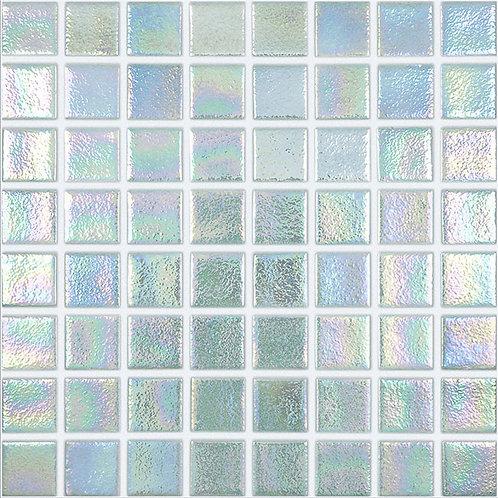 Shell Crystal glasmozaïek 38X38MM tegels