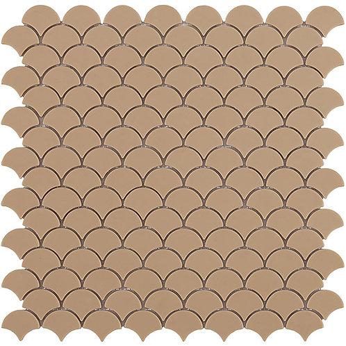Matt Beige Vidrepur visschub mozaïek tegels