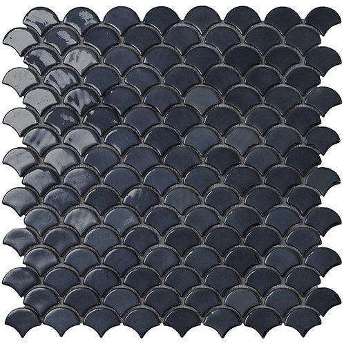 BR Black Vidrepur visschub glasmozaïek tegels