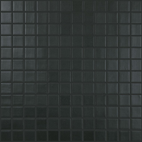Nordic Black Mat glasmozaïek 25X25MM tegels