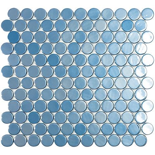 Circle Dark Blue Br glasmozaïek 25CX25CMM tegels