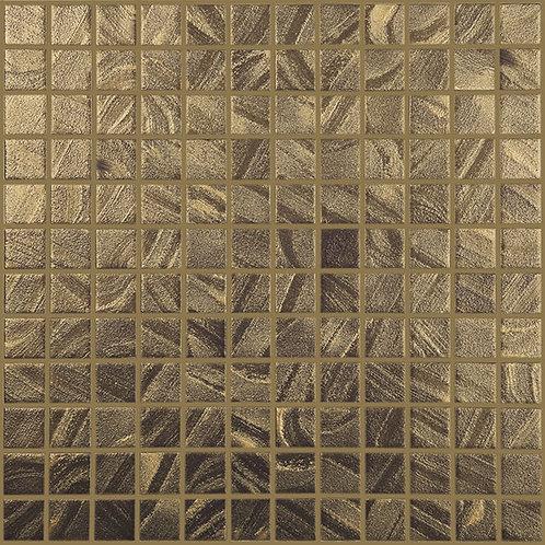 Arts Satin Gold glasmozaïek 25X25MM tegels