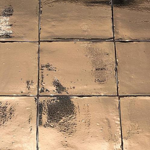 Handvorm goud 13x13 Friese witjes wandtegels