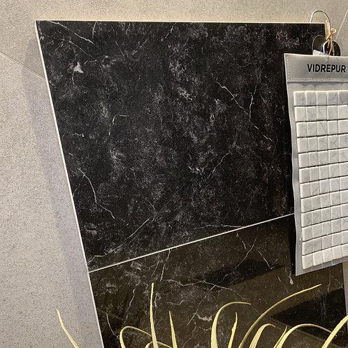 Nero Marquina 32X49 zwart marmer gerectificeerd wandtegel (prijs per m2)