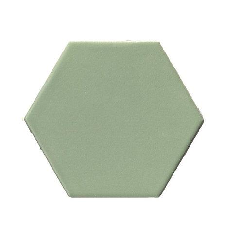 Hexagon mat groen 15x17 tegels (prijs per m²)