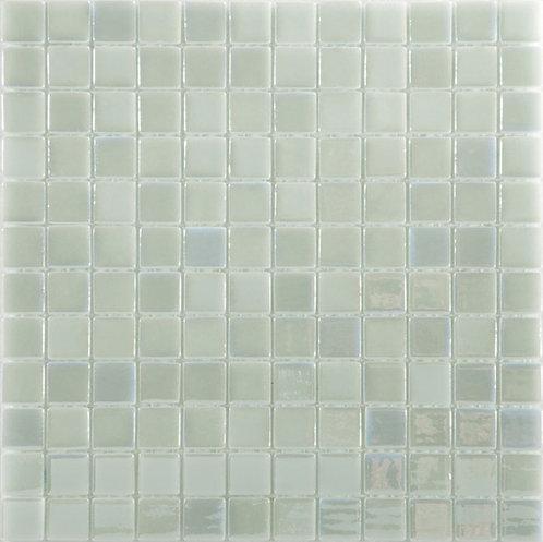 Lux White glasmozaïek 25X25MM tegels