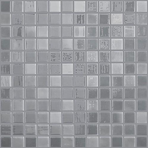Lux Grey glasmozaïek 25X25MM tegels