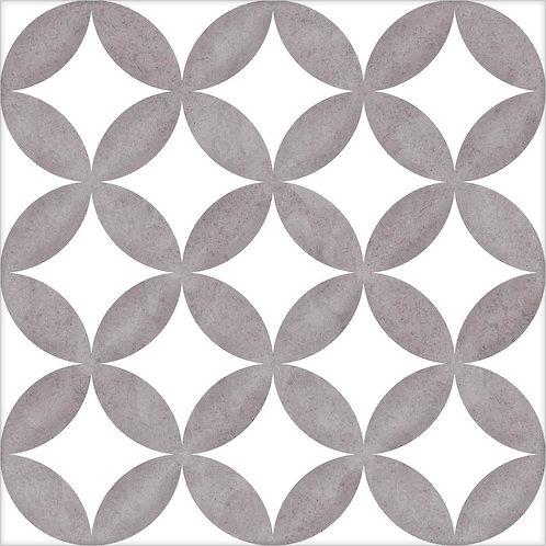 District circles grey 20x20 (prijs per m²)