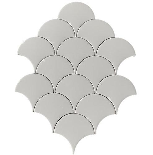Visschub wandtegels gebroken wit 12,5x6,3
