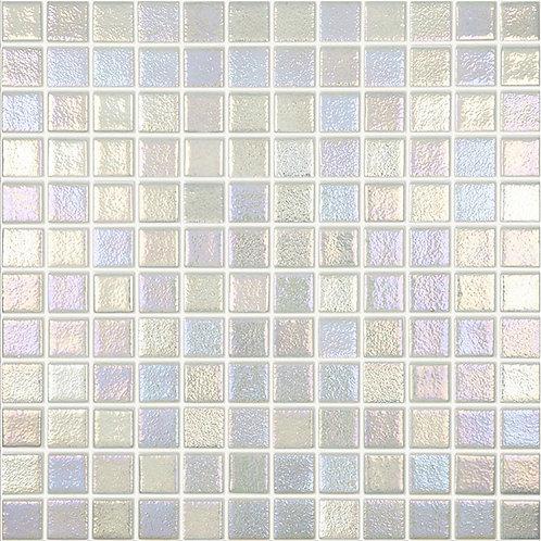 Shell Steel glasmozaïek 25X25MM tegels