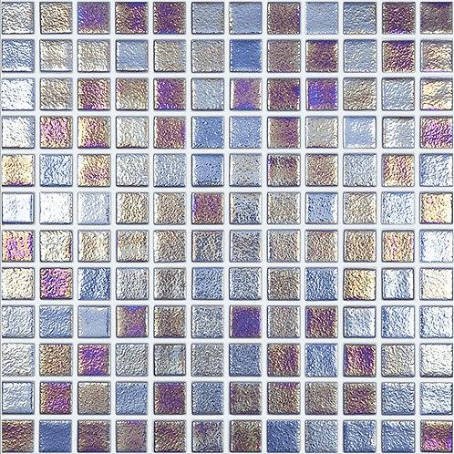 Shell Sapphire glasmozaïek 25X25MM tegels