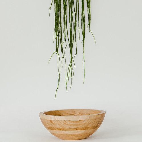 Bamboe waskom 35x35x13,5 cm.