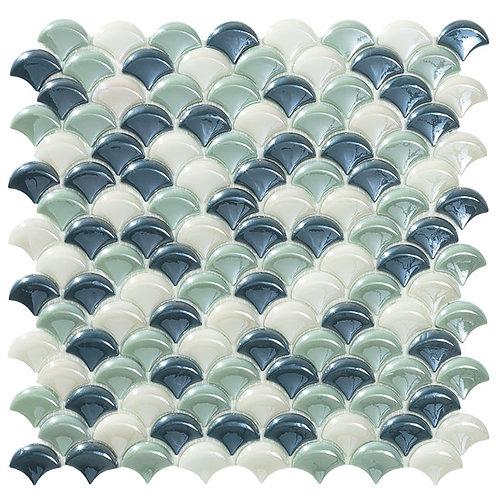 Dimension Circe Blend visschub glasmozaïek 36X29MM tegels
