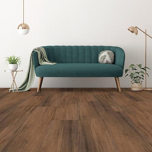 Keramisch hout Twenge 23x120 donkerbruin vloertegels / wandtegels