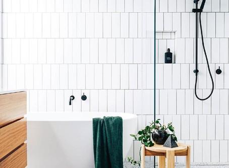 Terrazzo tegels inspiratie in je Scandinavische of moderne badkamer