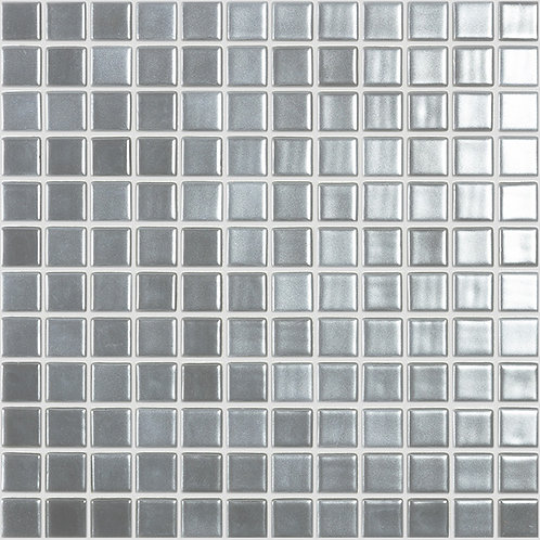Magic Silver glasmozaïek 25X25MM tegels