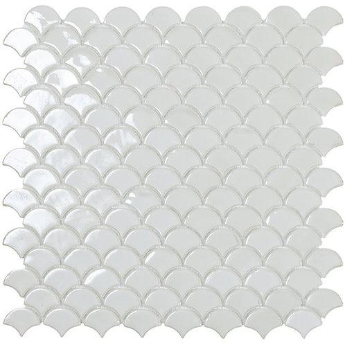 BR White Vidrepur visschub mozaïek tegels