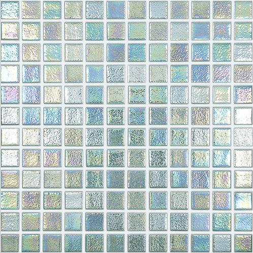 Shell Crystal glasmozaïek 25X25MM tegels