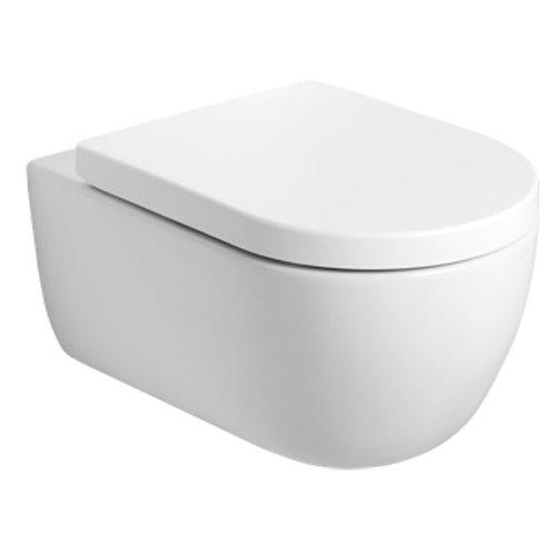 Lona wandcloset wit 54 cm incl. softclose zitting wit