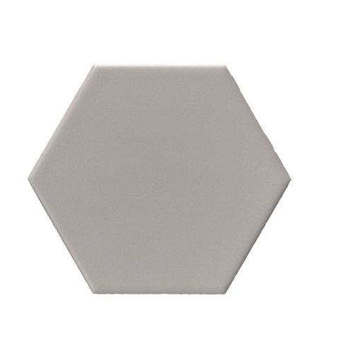 Hexagon mat grijs 15x17 tegels (prijs per m²)