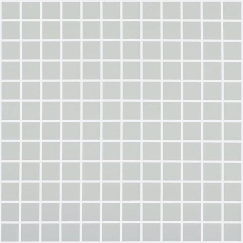 Nordic Light Grey Mat glasmozaïek 25X25MM tegels