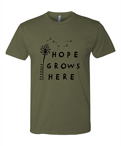 Hope Grows Unisex Military Green.png