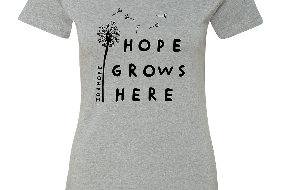 Fitted Hope Grows Tee
