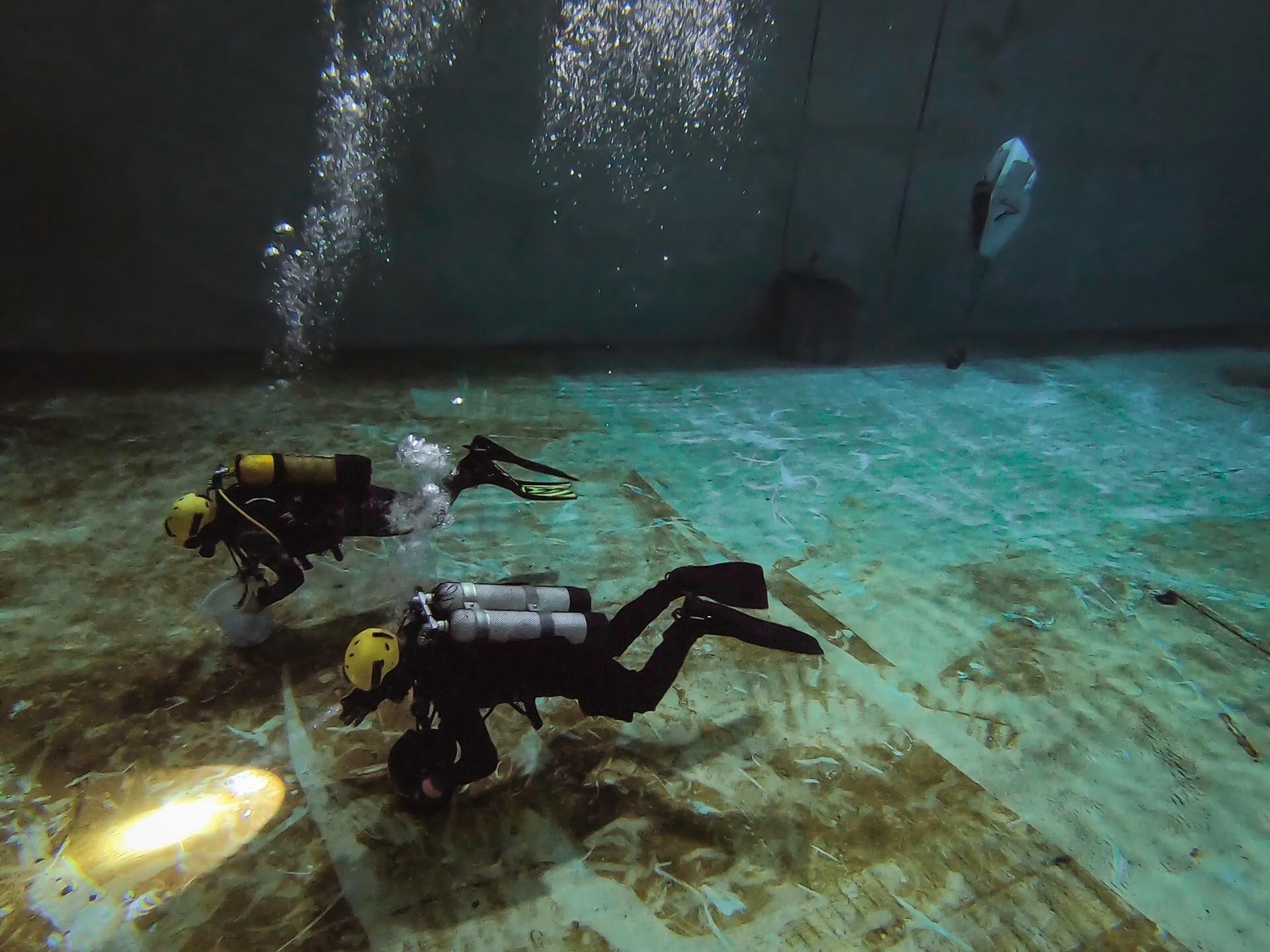Plongées techniques et scientifiques
