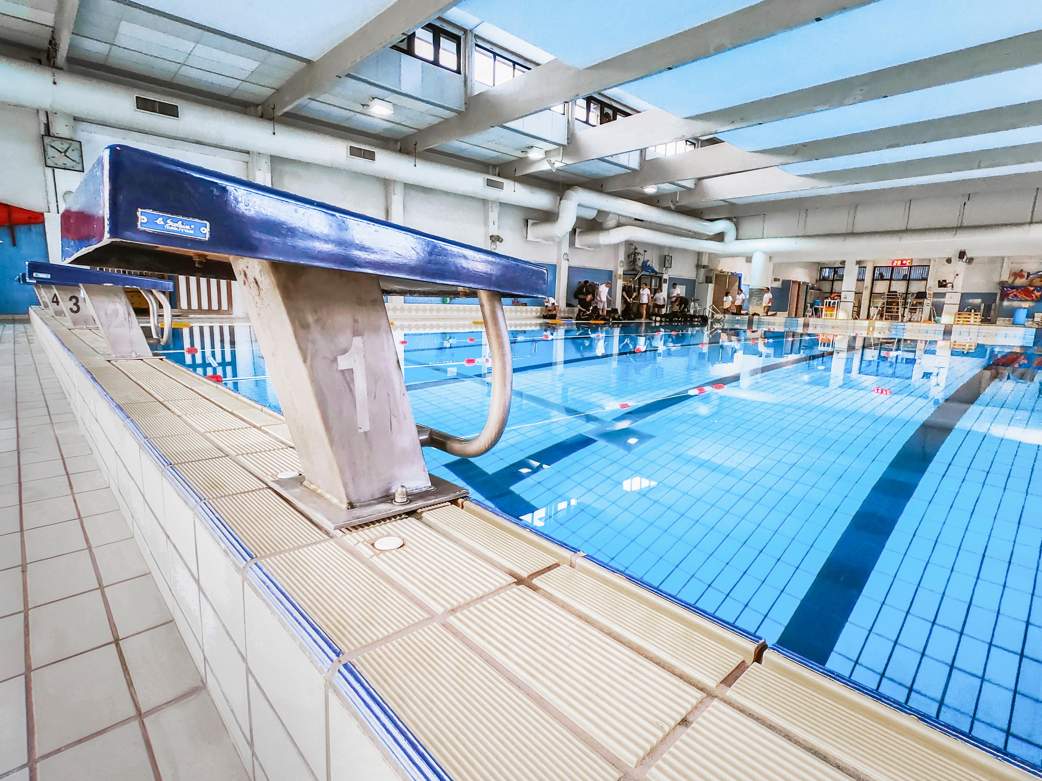 Couverture événementielle piscine