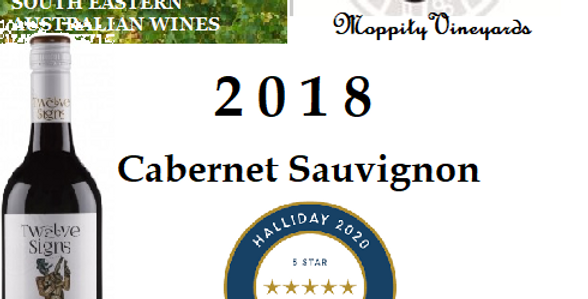 'Moppity Twelve Signs' Cabernet Sauvignon 2018