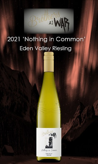 2021 'Nothing in Common'Riesling