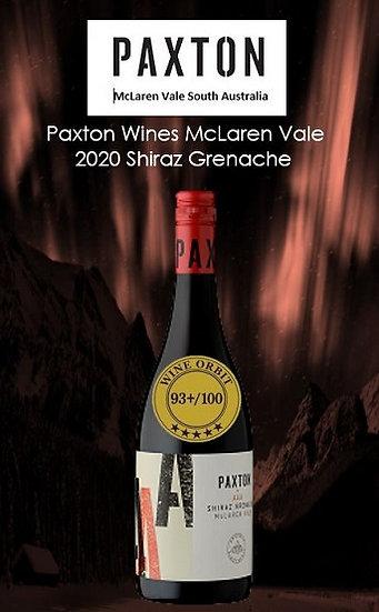 2020 Paxton 'AAA' Shiraz Grenache McLaren Vale