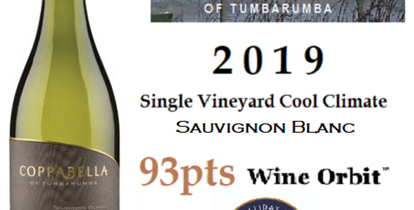 2019 Coppabella Sauvignon Blanc Single Vineyard