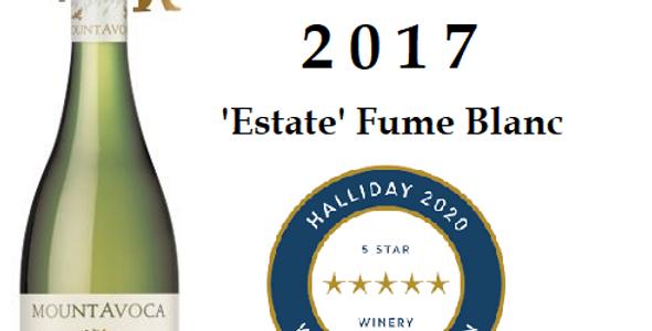 'Mt Avoca Estate  2017Fume Blanc