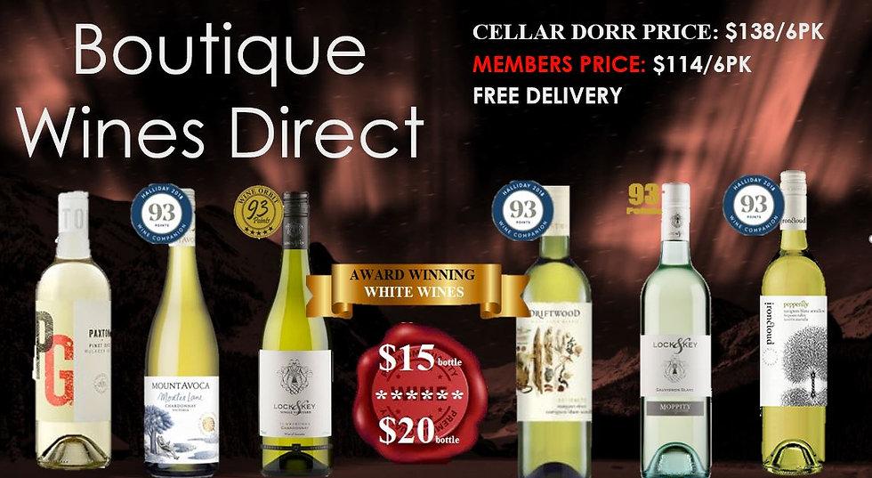 White Wine 6pk $15-$20 bottle