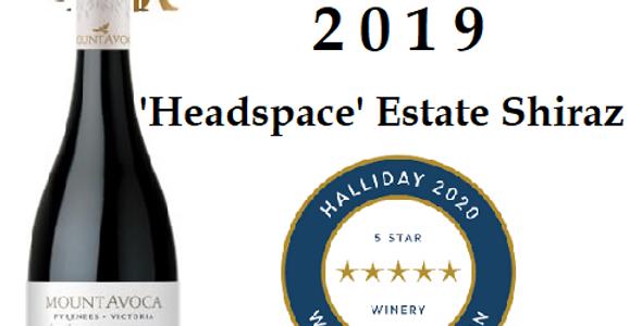 """Mt Avoca 2019 """"Headspace' Shiraz"""