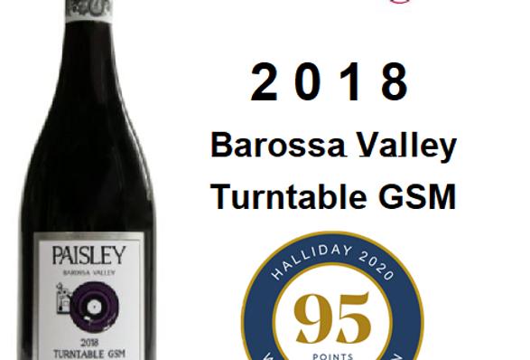 2018 Paisley ''Turntable' GSM Barosal Valley