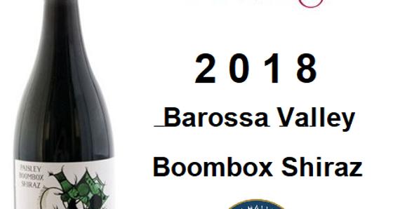 2018 Paisley 'Boombox' Shiraz  Barosaa Valley