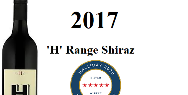 2017 Hemera 'H' Shiraz Barossa Valley ...
