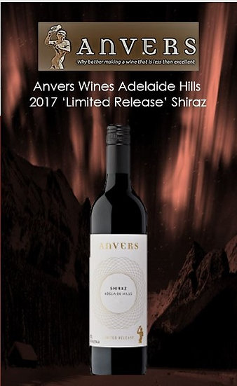 2017 Adelaide Hills Shiraz Limited Release