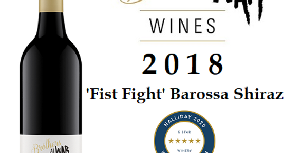 2018 'Fist Fight' Barossa Valley Shiraz