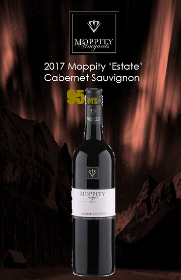 2017 Moppity Estate  Cabernet Sauvignon