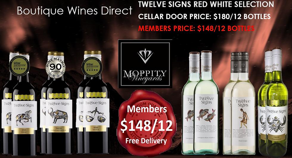 Moppity Twelve Signs Budget 12 pk