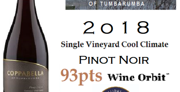 2018  Coppabella   Pinot Noir Cool Climate