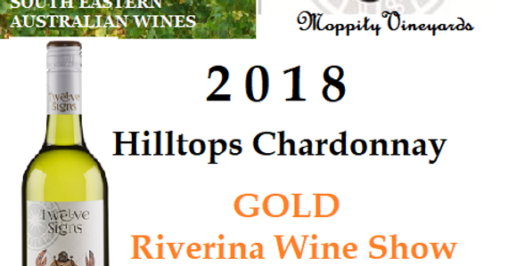 2018 Moppity Vineyards  'Twelve Signs' Chardonnay
