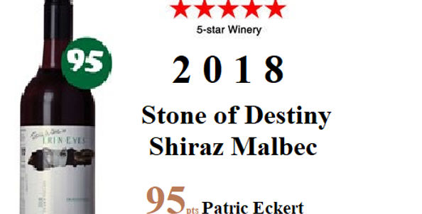 2018 Erin Eyes 'Stone of Destiny Shiraz Malbec